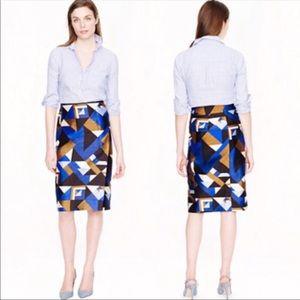 J. Crew Collection Pencil Wrap Skirt